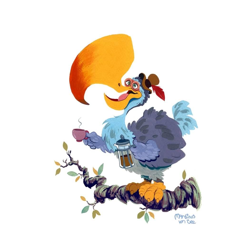 Dodo by Martinus van Tee