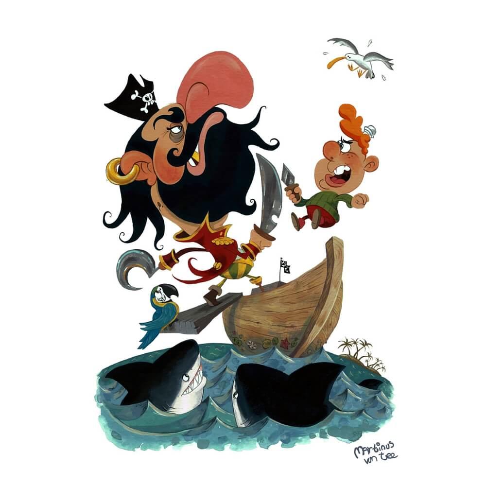 Pirate by Martinus van Tee